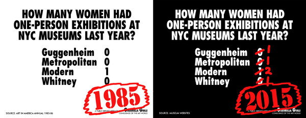 How many women had one person exhibitions in NYC