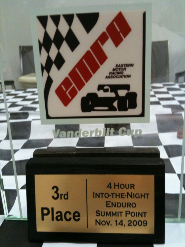 EMRA 4 Hour Enduro - 3rd Place Trophy