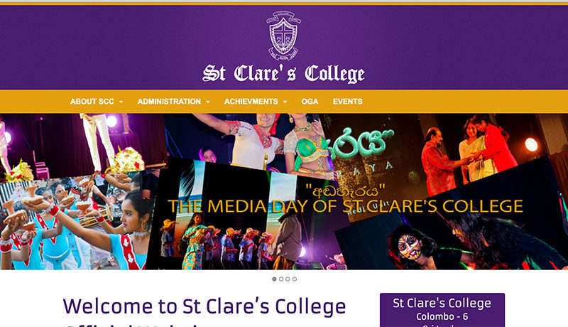 School Home Page