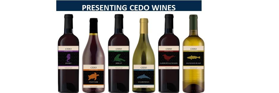 INTRODUCING CEDO WINES redo