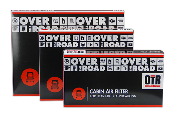 FleetPride OTR Heavy Duty Cabin Air Filter Package Design