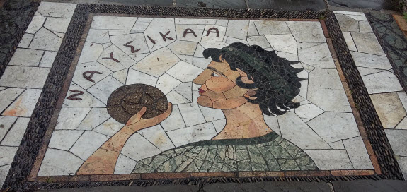 walking tour of public art - another odyssey mosaic