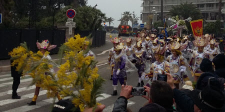 Nice Carnival - Marching Drummers
