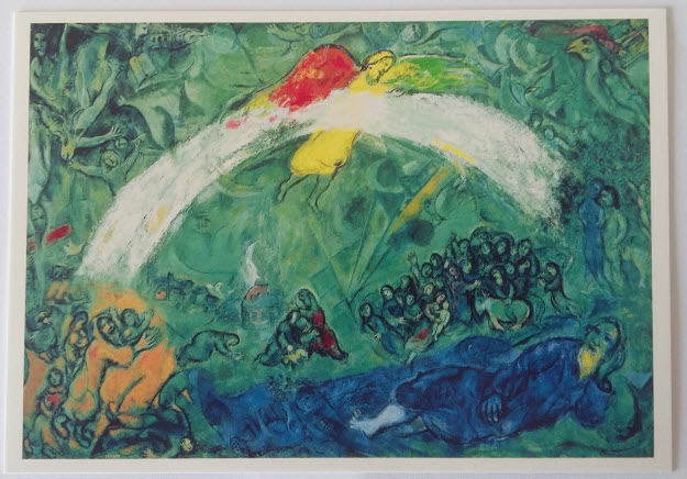Noah and the Rainbow (1966), Chagall Museum, Nice