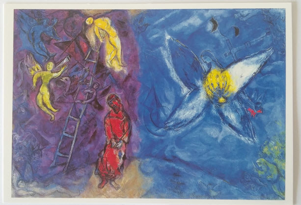 Jacob's Dream (1966), Chagall Museum, Nice