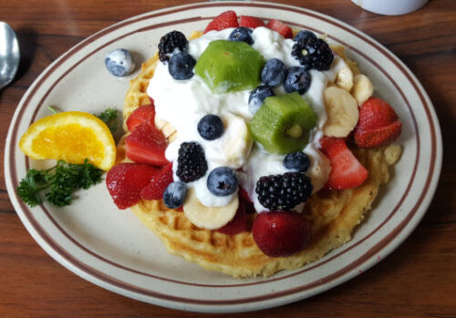 Linda's Special Waffle