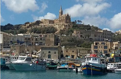 Mgarr Harbor, Gozo