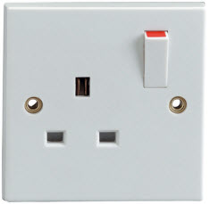 Irish electrical outlet type
