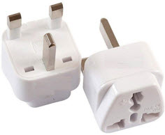 Travel adapters for Ireland