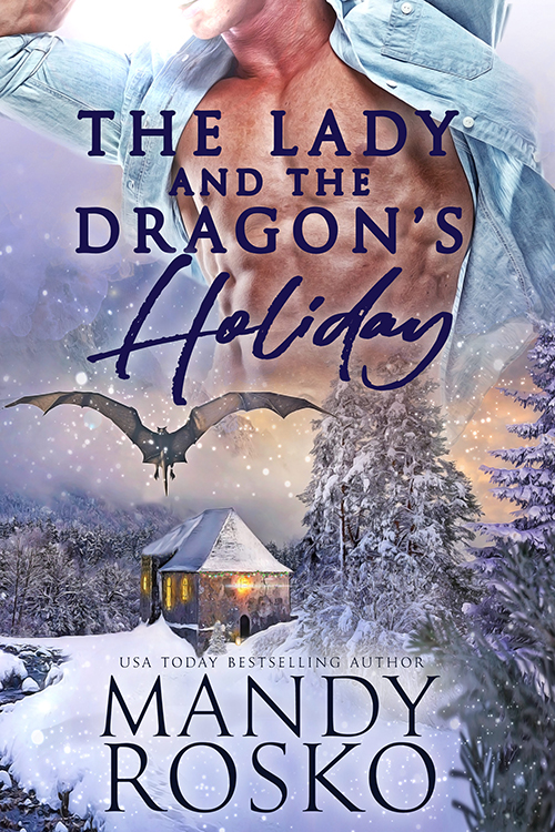 Book Cover: The Lady and the Dragon's Holiday