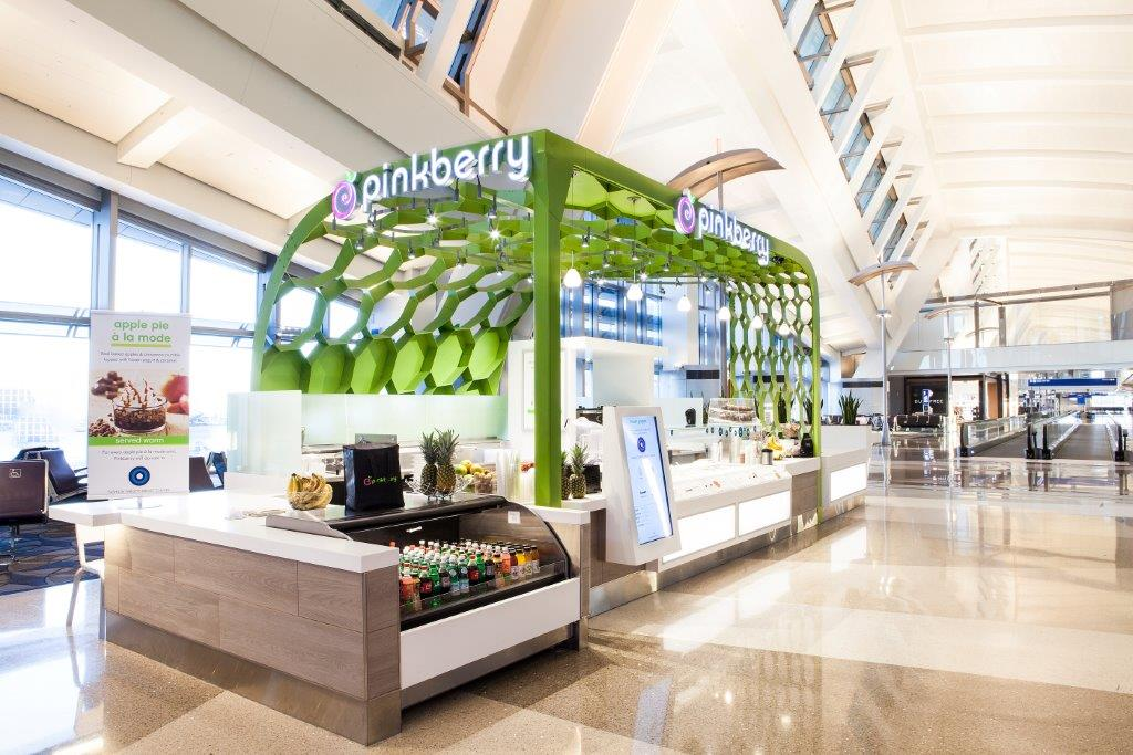 Pinkberry LAX Tom Bradley Terminal