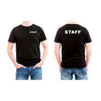 STAFF BLACK SHIRTS U DESIGN IT