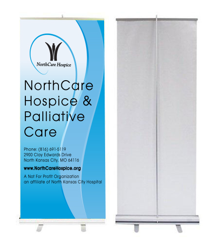 retractable banner standing banner u design it custom 1