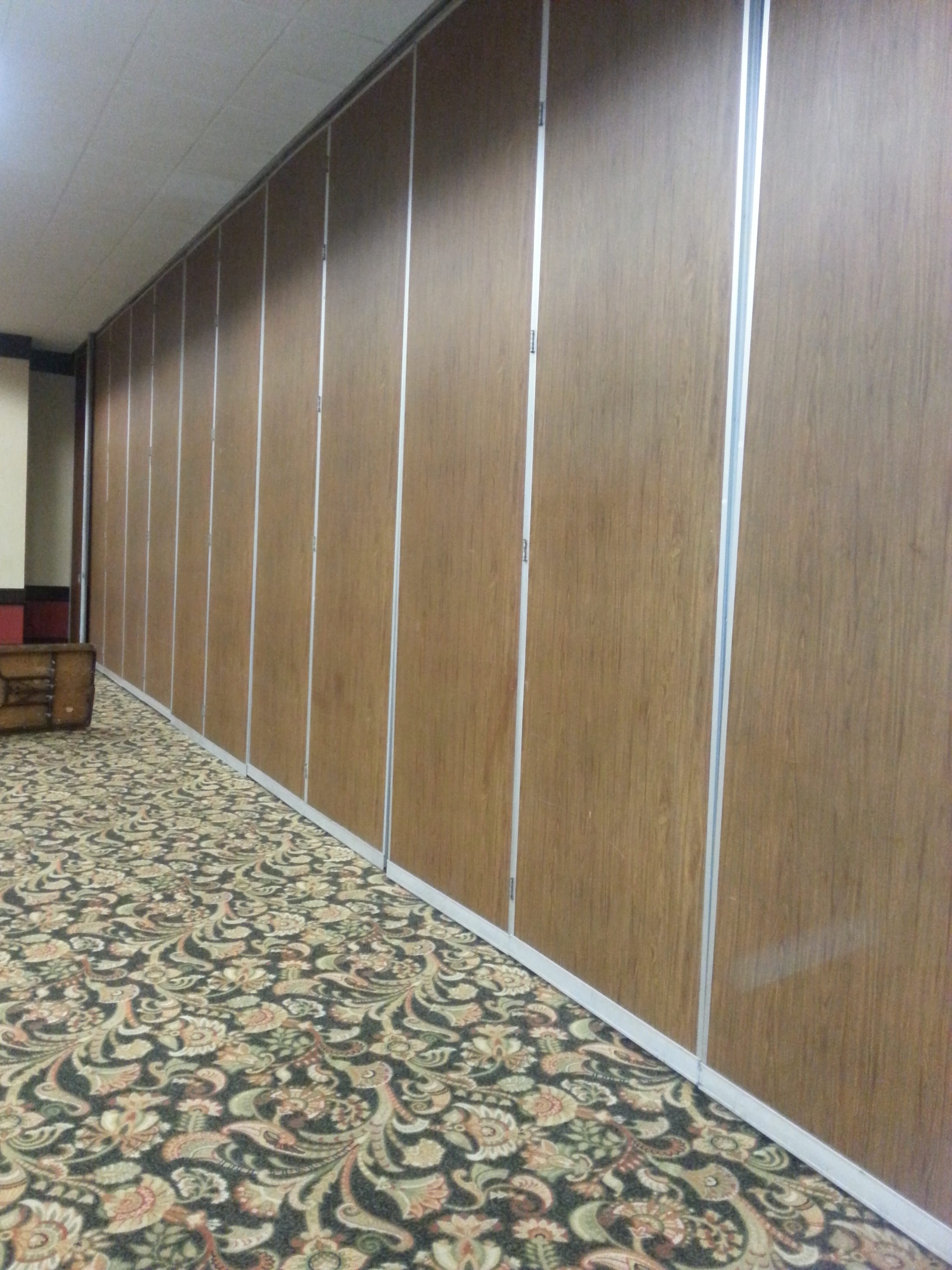 Conference Center Airwall Repair San Antonio Hotel Airwall Service Austin School Airwall Maintenance San Marcos Hufcor KwikWall Panelfold Service San Antonio Stone Oak Conference Room Acoustic Wall Folding Wall Accordion Wall Repair