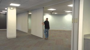 operable wall installation san antonio kwik wall installation san antonio folding wall installation Austin