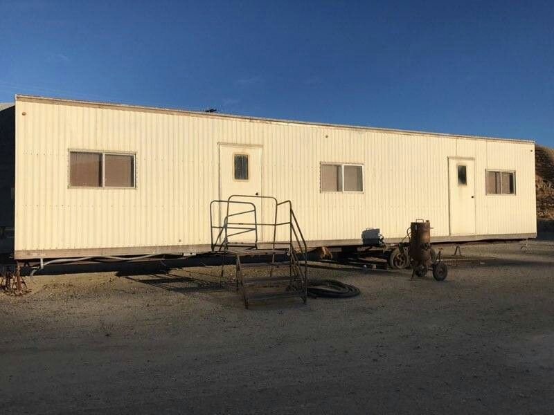 10 x 48 MOBILE OFFICE TRAILER, TEMPORARY SHELTER, STORAGE UNIT