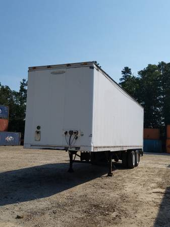 """For Sale(10) 28'-32'x102"""" Liftgate-Dry Van Trailers- Clean- Ready Now (Atlanta - Lawrenceville) $4500"""