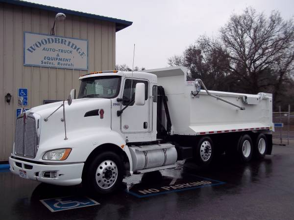 Kenworth T 660 Super 10 Dump Truck With Pusher Axle New 18ft Rock Box $95500