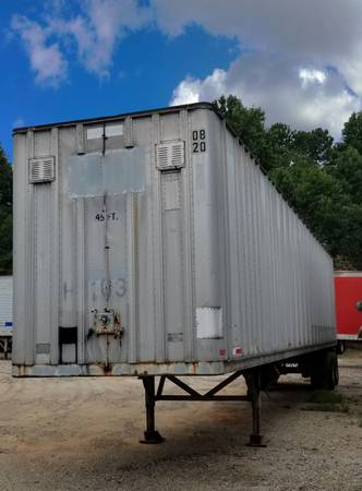 (15) 28'-45'x96 Storage Trailers - Tight & Dry - Fast Delivery $1850