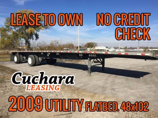 48x102 Flatbed - lease to own. No credit check (Tulsa) $1750
