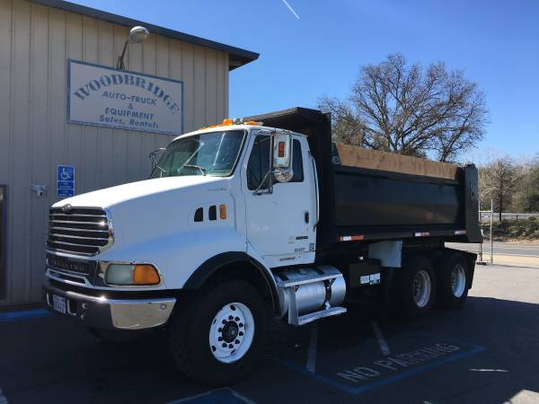 Sterling 10 Wheel Dump Truck Heavy Duty Spec Low Miles (woodbridge) $49500