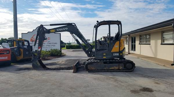 2014 Volvo ECR58D Mid Excavator Financing Available (Wauchula, FL 33873)