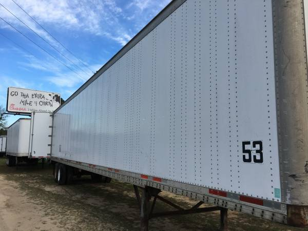 On-site Storage Trailers for your Business- Dry Van Semi Trailers (Columbia) $140