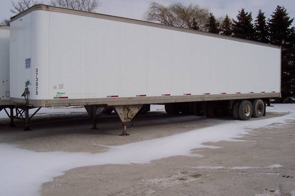 Semi Trailer for sale or rent (Luckey) $3500