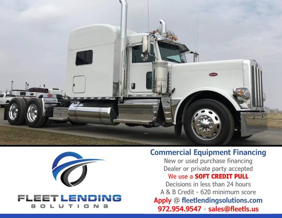 Truck, Trailer, AG & Construction Equipment Financing (Pierre - Central SD)