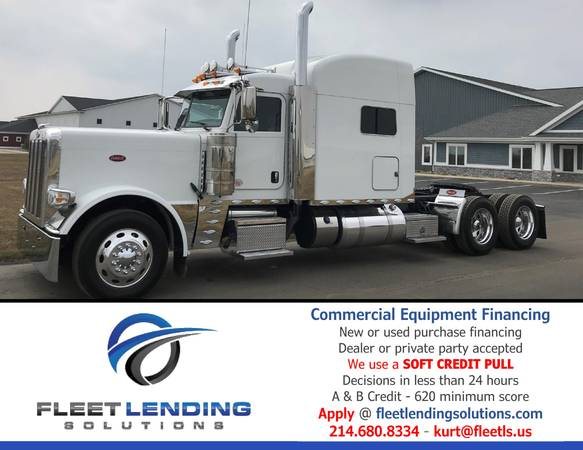 Truck, Trailer, AG & Construction Equipment Financing (Topeka)