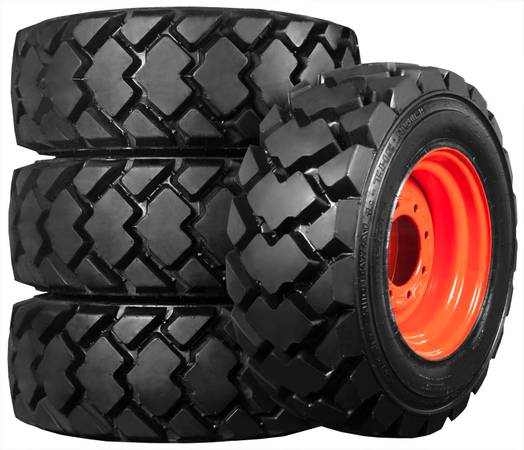 New Skid Steer Tires & Rims from $995 - Backhoe - Loader - Farm (Free Delivery) $995