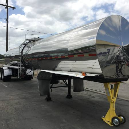 Polar 6,000 Gallon Tank Trailer Semi Tanker Excellent condition (woodbridge) $19000