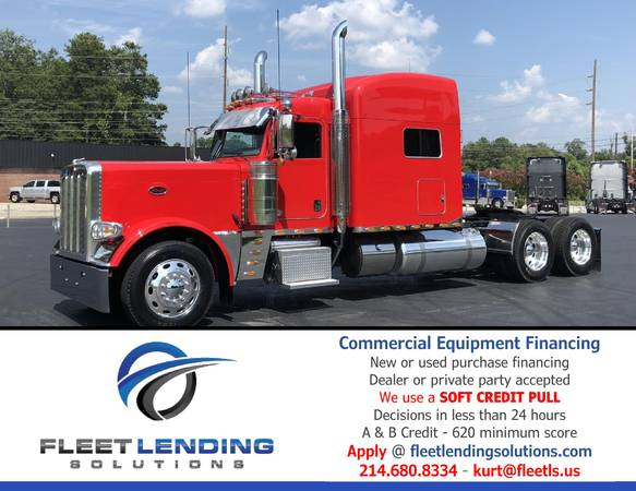 Truck, Trailer, AG & Construction Equipment Financing (Portland)