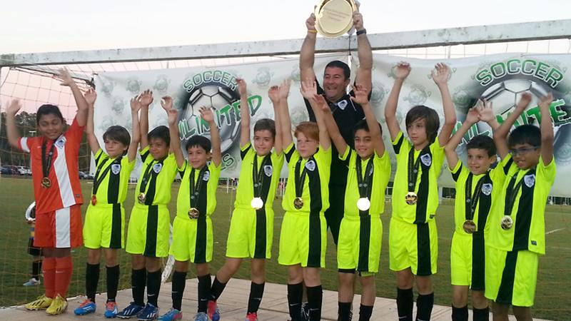 U10 White Champions Naples