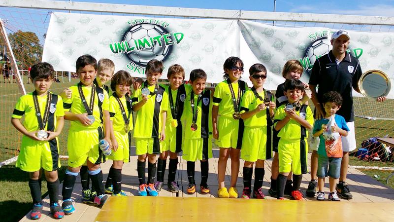 U8 White Champions Naples