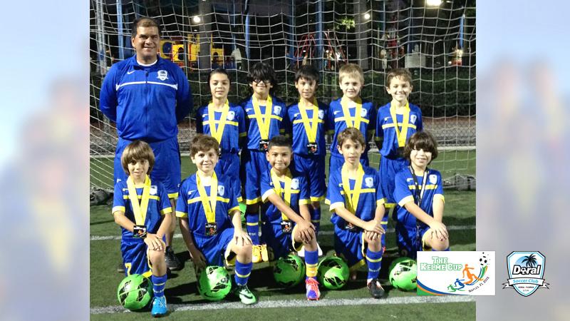 U9 White Champion's Naples Tournament 2015
