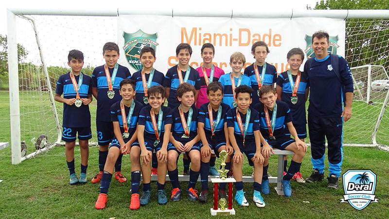 U12 Blue Champion's