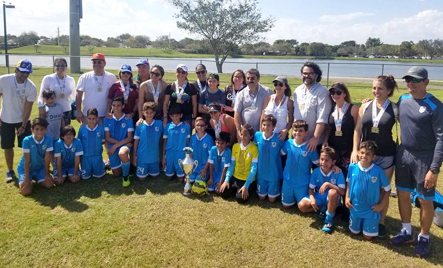 🏆 U12 Premier Champion's SFUYSA 2018 – 2019 ⚽