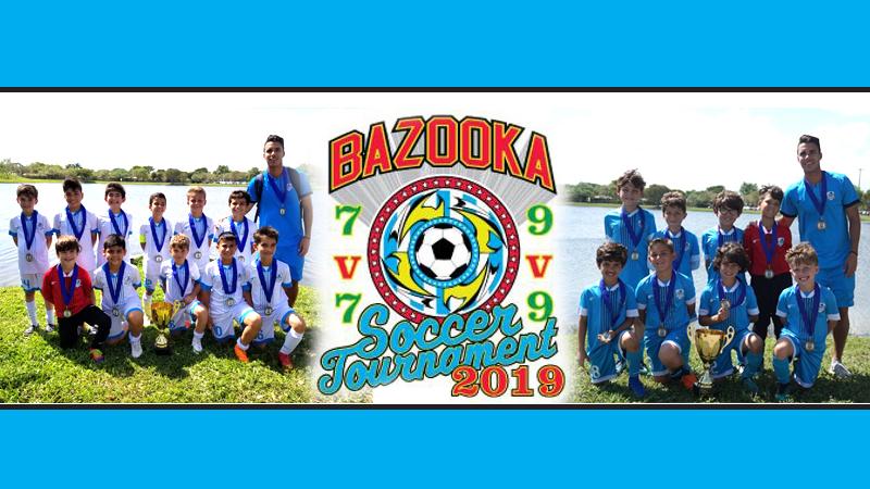 🏆 U9 Premier & U10 White Champion's Bazooka Cup 2019 ⚽