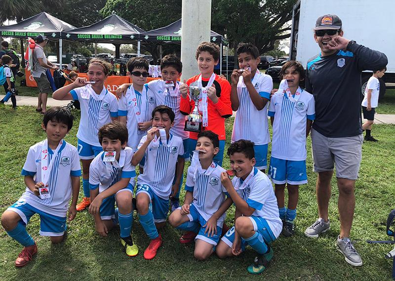 U11 Blue Finalist Miramar Cup March 2-3, 2019