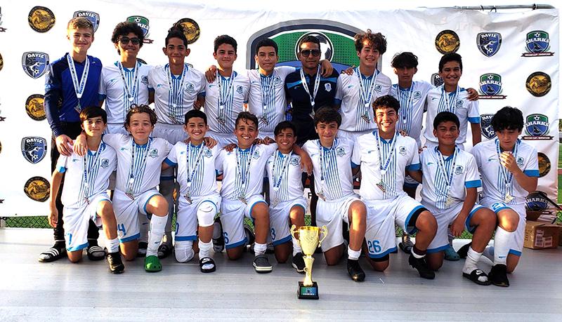 U14 Premier & U13 White Finalist Sharks Soccer Cup & Showcase