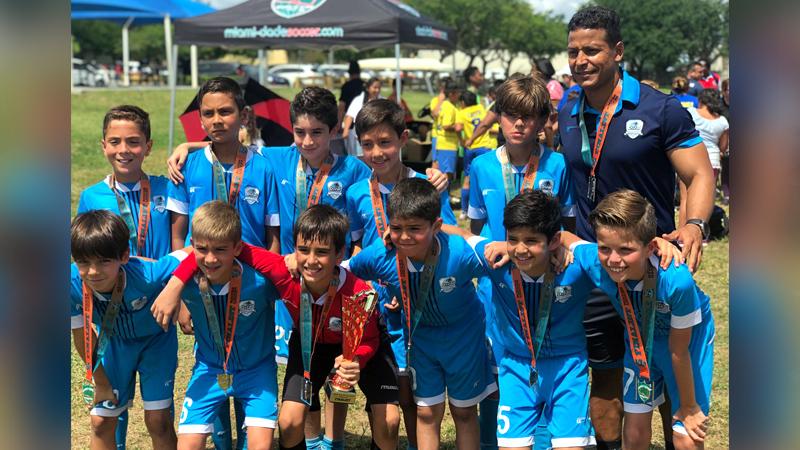 U11 White Finalist Miami Dade Soccer League Spring Season 2019