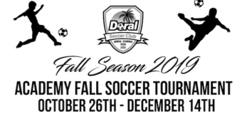 North Miami Youth Soccer League Fall 2019 – Game Schedule 11/16/2019