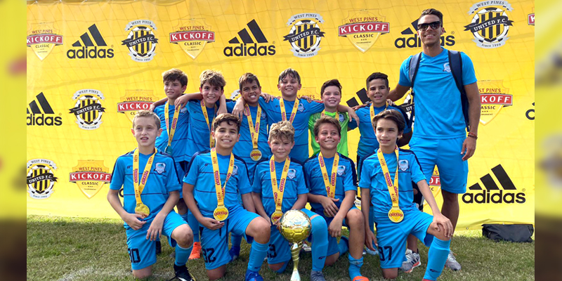 U11 White Champion!! West Pines Tournament October 19-20 – 2019