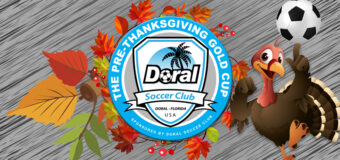 THE PRE-THANKSGIVING GOLD CUP                        NOVEMBER 16th – 17th 2019                                  MIAMI FLORIDA