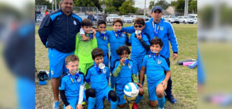 U10 Premier Champion's @ The Pre-Thanksgiving Gold Cup November 16th-17th 2019 Miami Florida