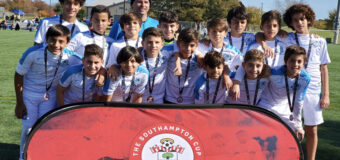 U13 Elite Finalist!! The Southampton Cup November 23/14, 2019