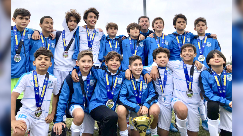 U13 Elite Champion's @ The Pre-Thanksgiving Gold Cup November 16th-17th 2019 Miami Florida