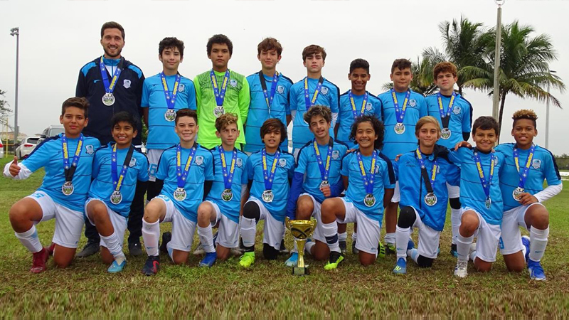 U14 Premier Champion's @ The Pre-Thanksgiving Gold Cup November 16th-17th 2019 Miami Florida