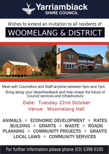 WDDA Doings, and the Community Consultation